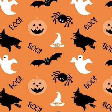 20x halloween/horror oranje servetten met figuren print 33 x 33 cm ko