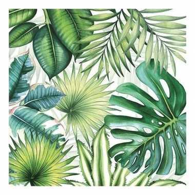 20x papieren servetjes jungleprint 33 x 33 cm kopen