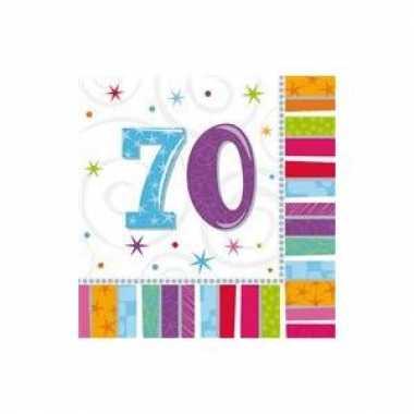 70 jaar servetten kopen