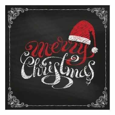 Feest servetten merry christmas kopen