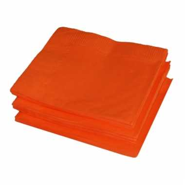 Gekleurde servetten 20 stuks kopen