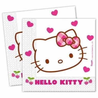 Hello Kitty servetjes 20 stuks kopen