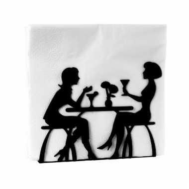 Houder voor servetten met 2 vrouwen kopen