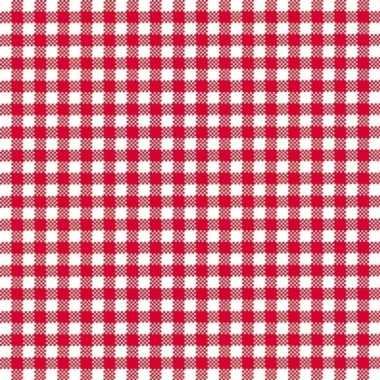 Oktoberfest lunchservetten met een ruit print rood/wit 3-laags 20 stu