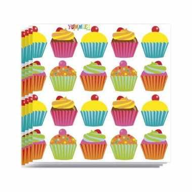 Papieren cupcake servetjes kopen