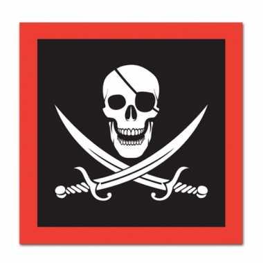 Papiernen piraten servetten kopen