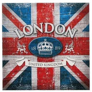 Servetten britse vlag 20 stuks kopen