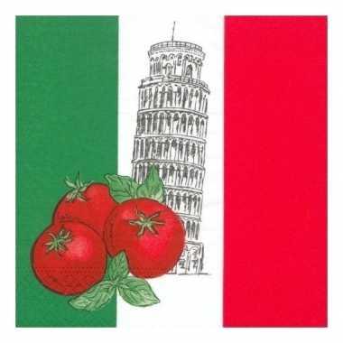 Servetten Italie 50 stuks kopen