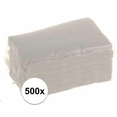 Servetten voor servettendispenser 500 stuks kopen