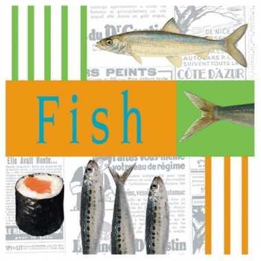 Vis en Sushi servetten 20 stuks kopen