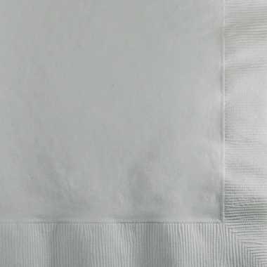 Zilveren servetten 2-laags kopen
