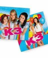 40x papieren servetjes prinsessen blauw thema feestartikelen 33 x 33 cm
