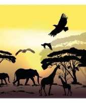 60x servetten afrika safari 3 laags