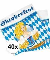 Beieren thema servetten 40 stuks