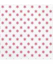 Kerst servetten met sterretjes 20 stuks 33 cm 10124325